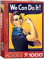 Rosie the Riveter Jigsaw Puzzle