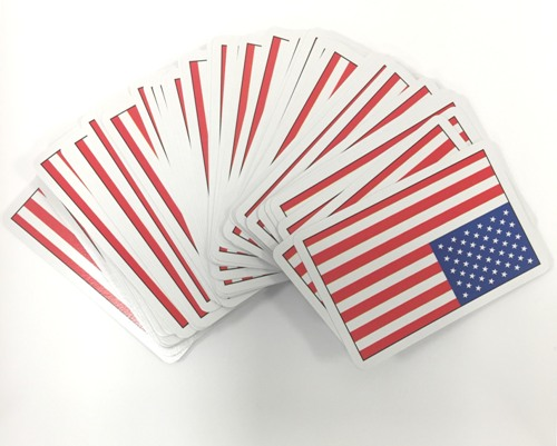 American Flag Playing Cards