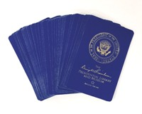 Eisenhower Library  Playing Cards- Blue