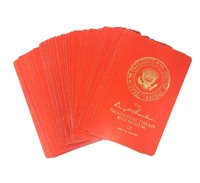 Eisenhower LIbrary Playing Cards- Red