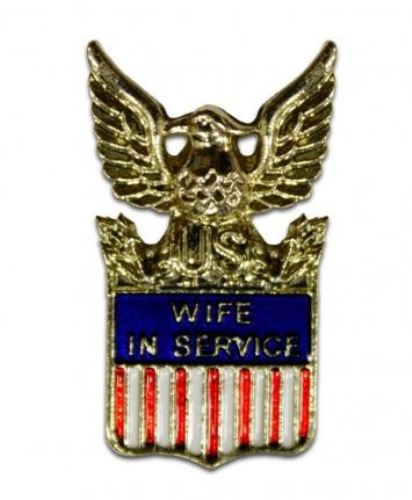 Pin, Wife In Service (15738)