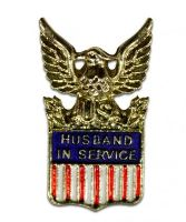 Pin, Husband In Service (15737)