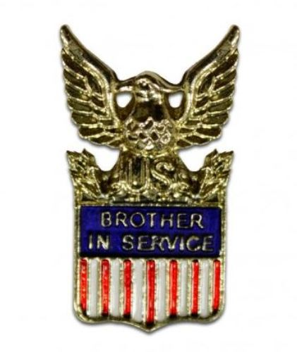 Pin, Brother In Service (15734)