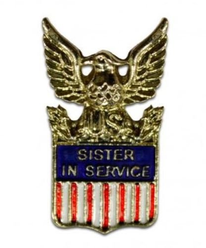 Pin, Sister In Service (1576))