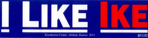 I Like Ike Bumper Sticker