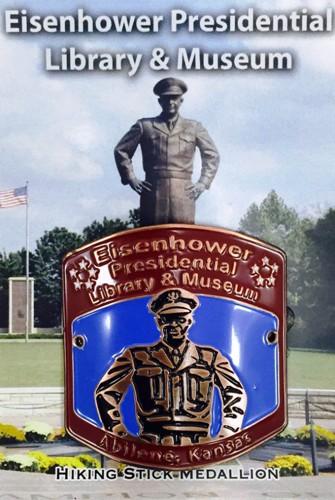 Eisenhower Library Hiking Medallion