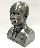Dwight D. Eisenhower Pewter Bust
