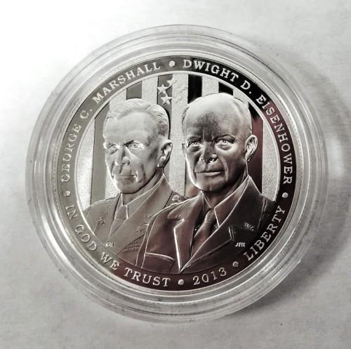 5-Star Generals Proof Silver Dollar
