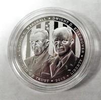 5-Star Generals Proof Silver Dollar