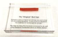 Paperweight, Red Tape