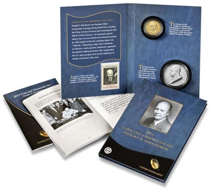 Eisenhower Coin & Chronicles Set