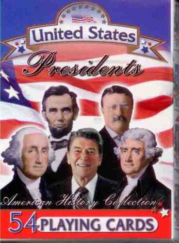 Playing Cards Presidents