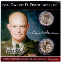 Eisenhower Presidential Collection Coins