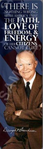 """President Ike"" Bookmark"
