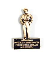 Ike Statue Pin