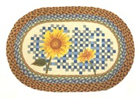 "Heirloom Sunflower 20""x30"" Oval"