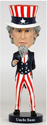 Uncle Sam Bobble