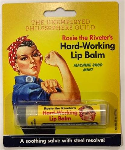Rosie the Riveter's Hard- Working Lip Balm