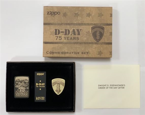 75th Anniversary D-Day Zippo Lighter