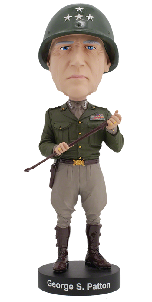 General Patton Bobblehead