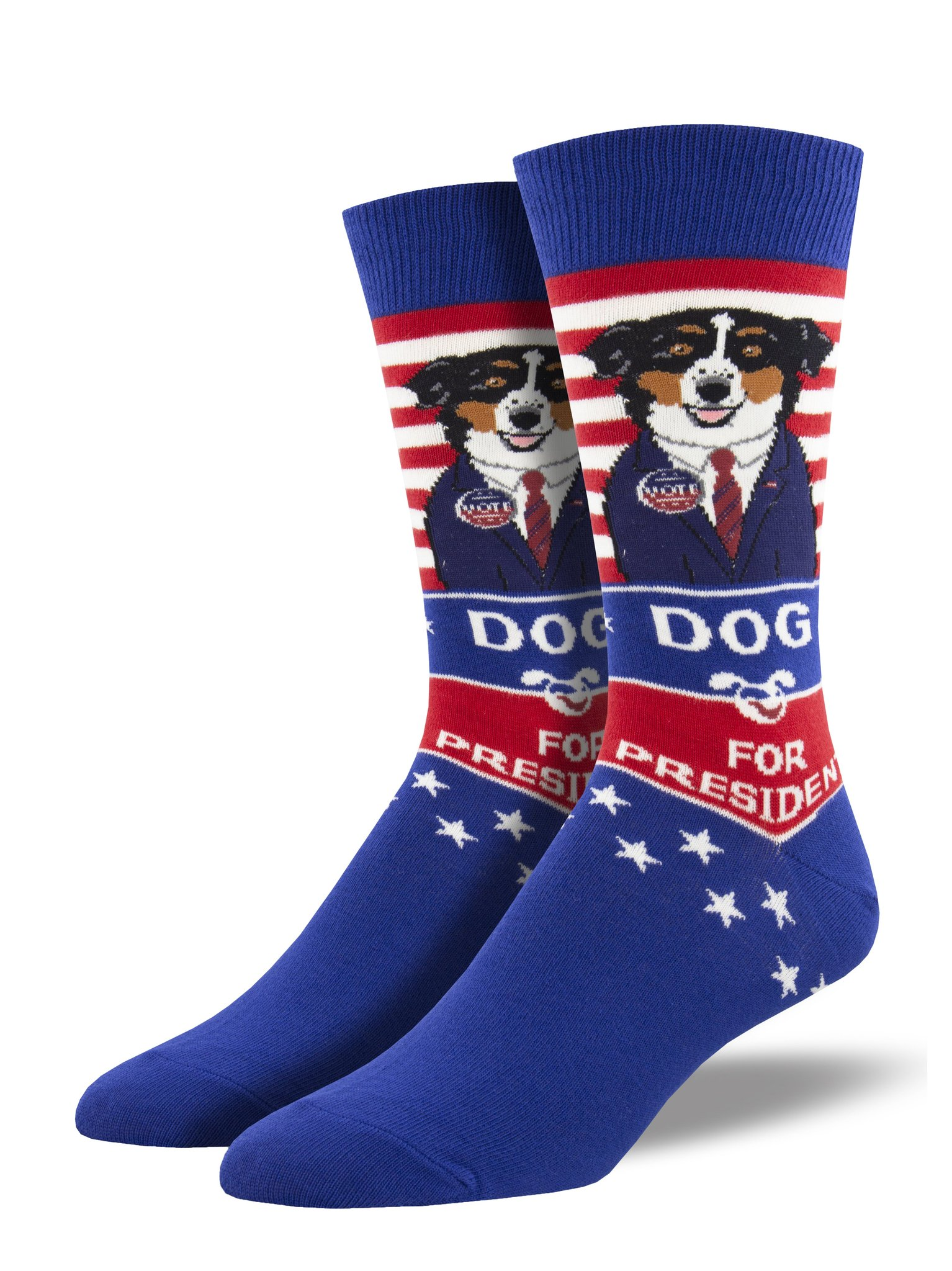 Dog for President Socks, Men's