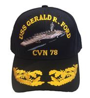 USS Gerald R. Ford CVN-78 Double Egg Cap