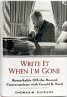 Bk: Write it When I'm Gone