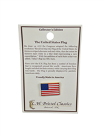 Lapel Pin, Flag, Made in America