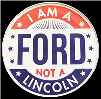 """I Am A Ford, Not a Lincoln"" Magnet"