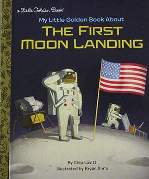 My Little Golden Book...The First Moon Landing