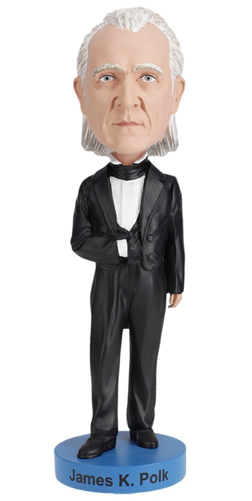 James K Polk Bobblehead