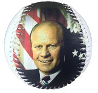 Gerald Ford Presidential Baseball