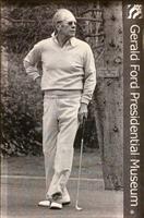 Gerald Ford Golfing Magnet