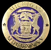 Michigan Seal Lapel Pin