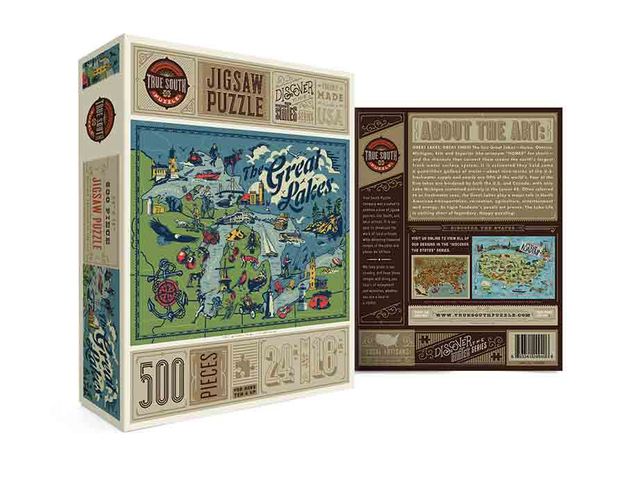 The Great Lakes 500pc Puzzle