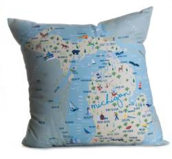 Michigan Pillow
