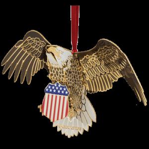 Bald Eagle Ornament Made in USA!