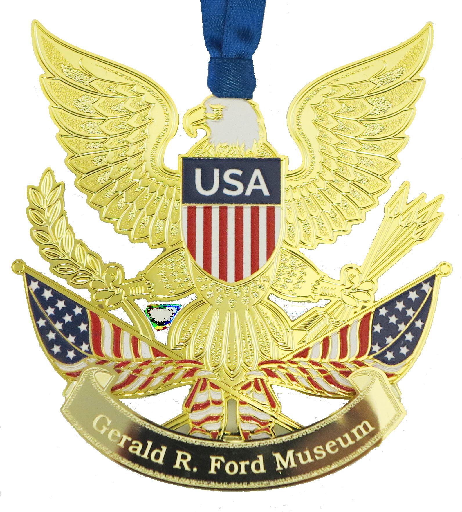 Gerald Ford Patriotic Ornament