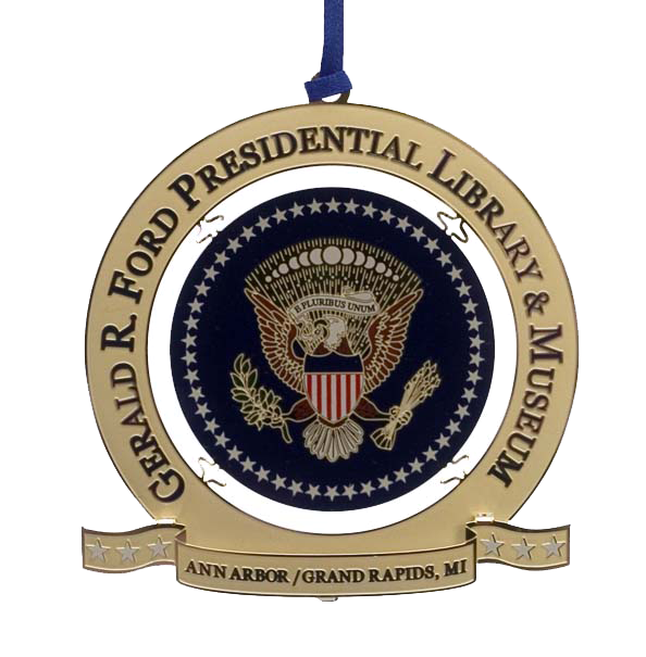 Gerald R. Ford Presidential Ornament Made in USA