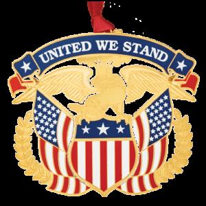 United We Stand Americana Ornament