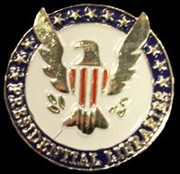 Presidential Libraries Lapel Pin