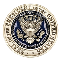 United States Presidential Seal Pewter Challenge Coin