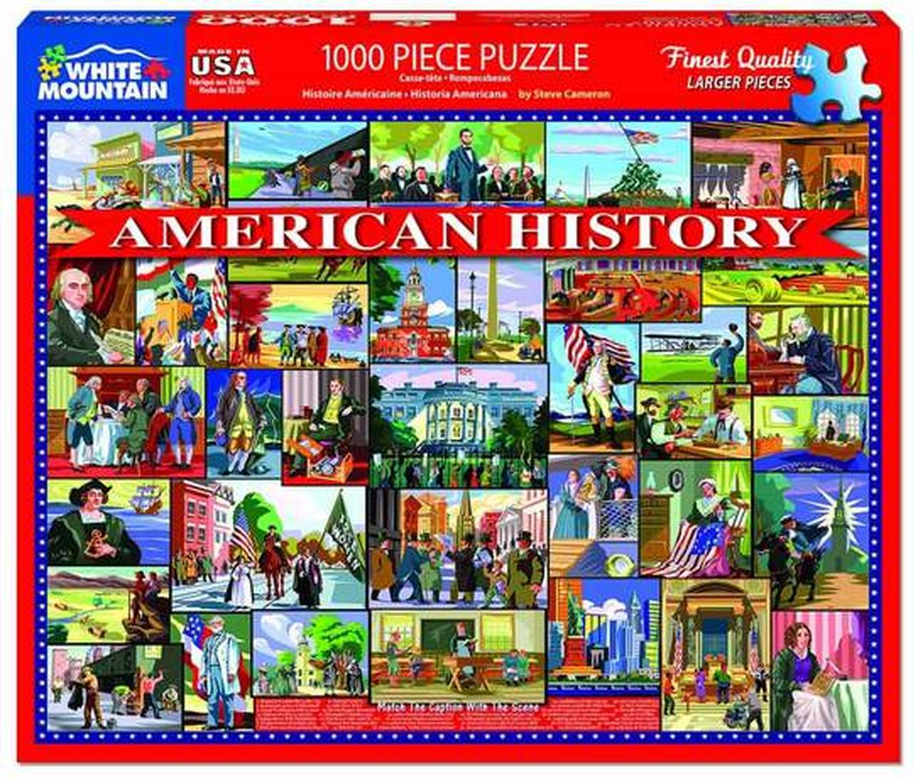 American History, 1000 pc Puzzle