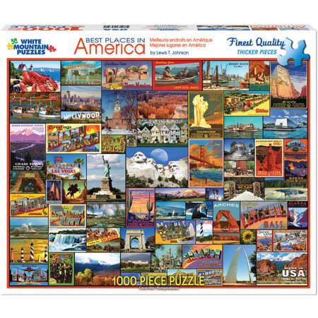 Best Places in America, 1000pc Puzzle