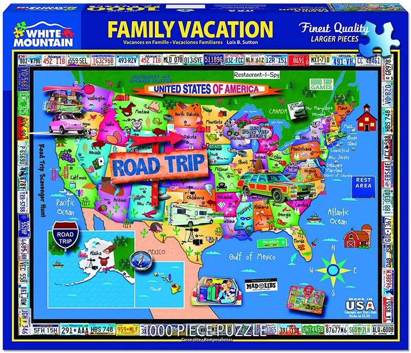 Family Vacation 1000pc Puzzle