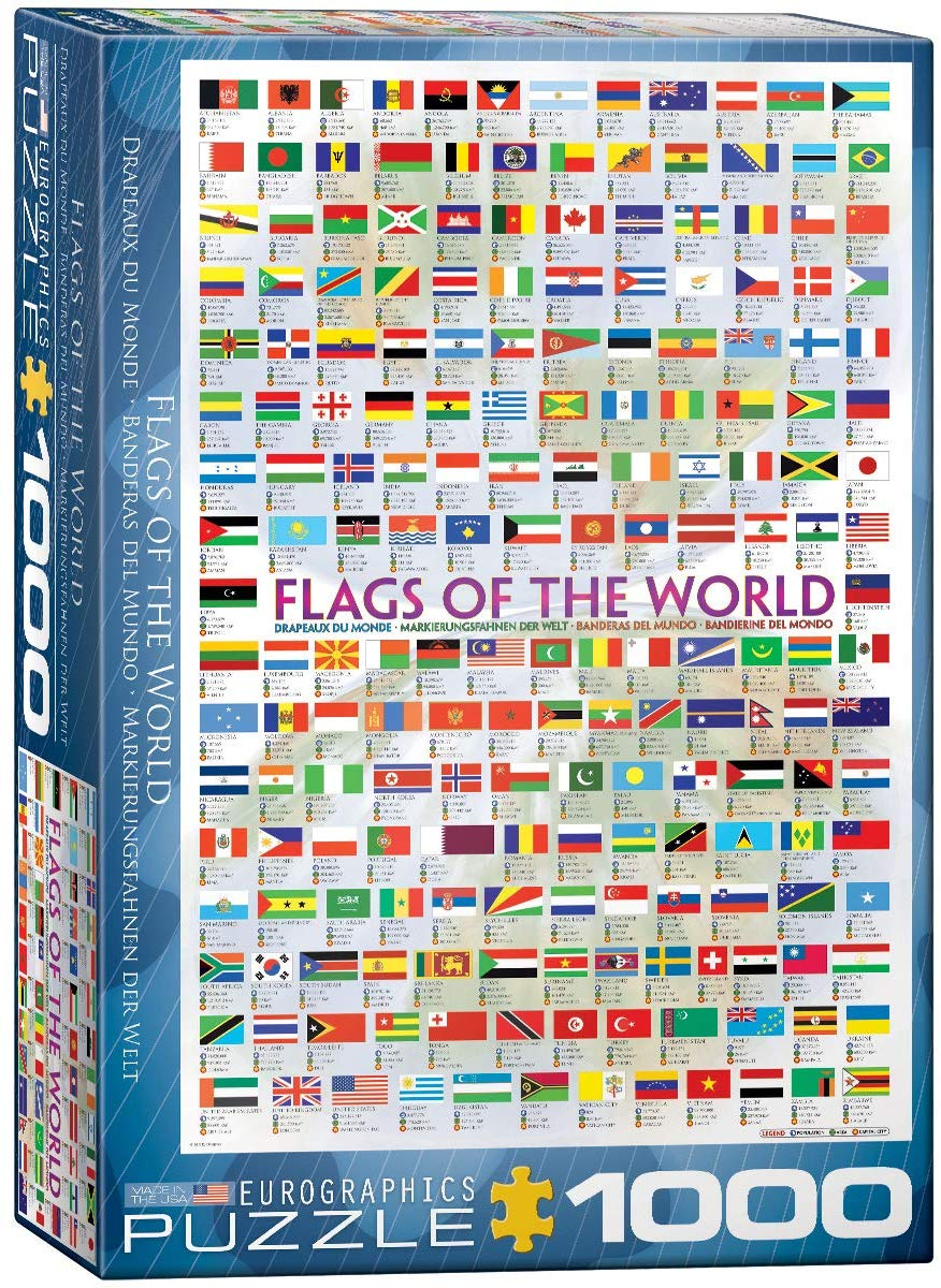 Flags of the World Puzzle 1000pc