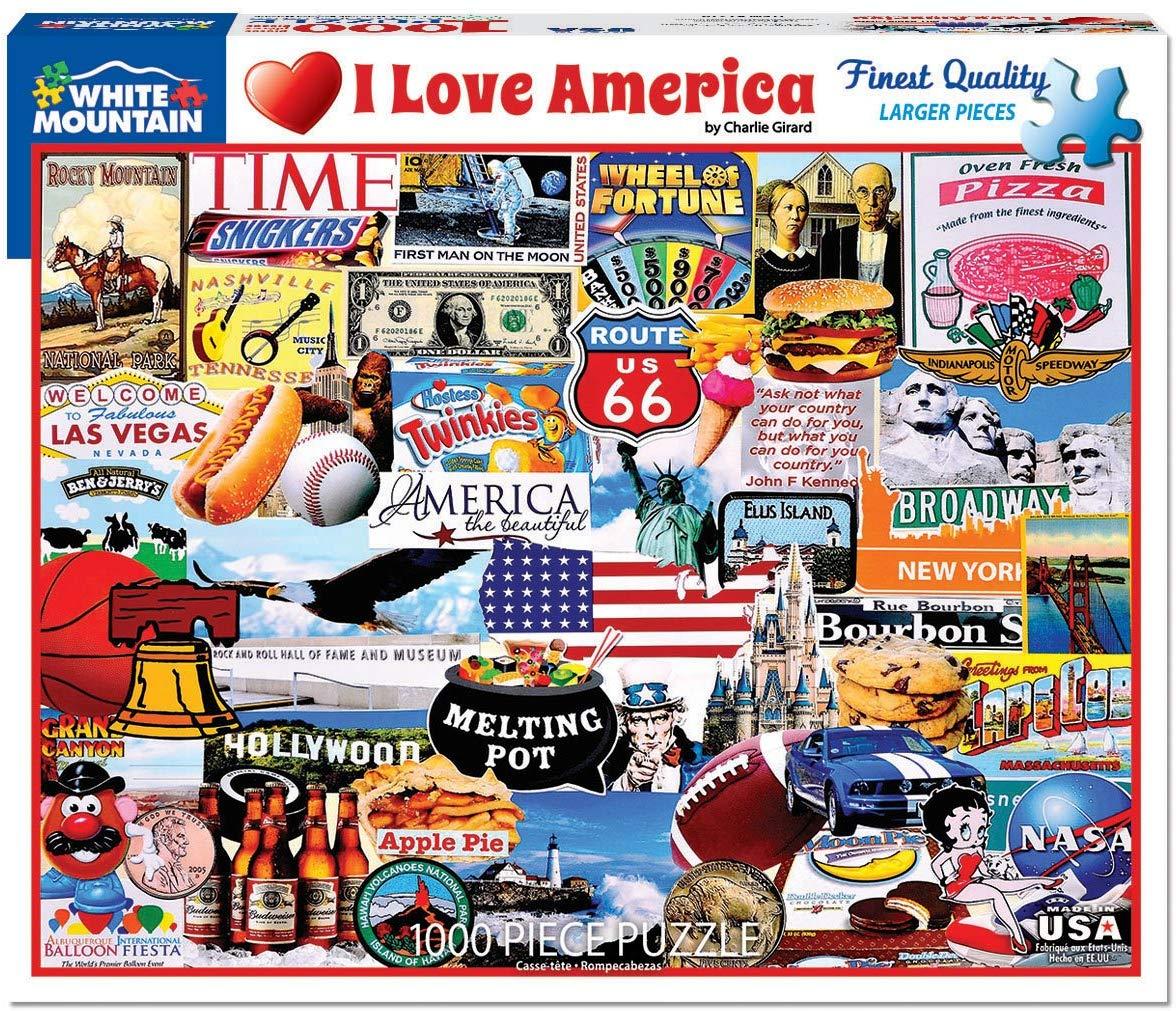 I Love America 1000pc Puzzle