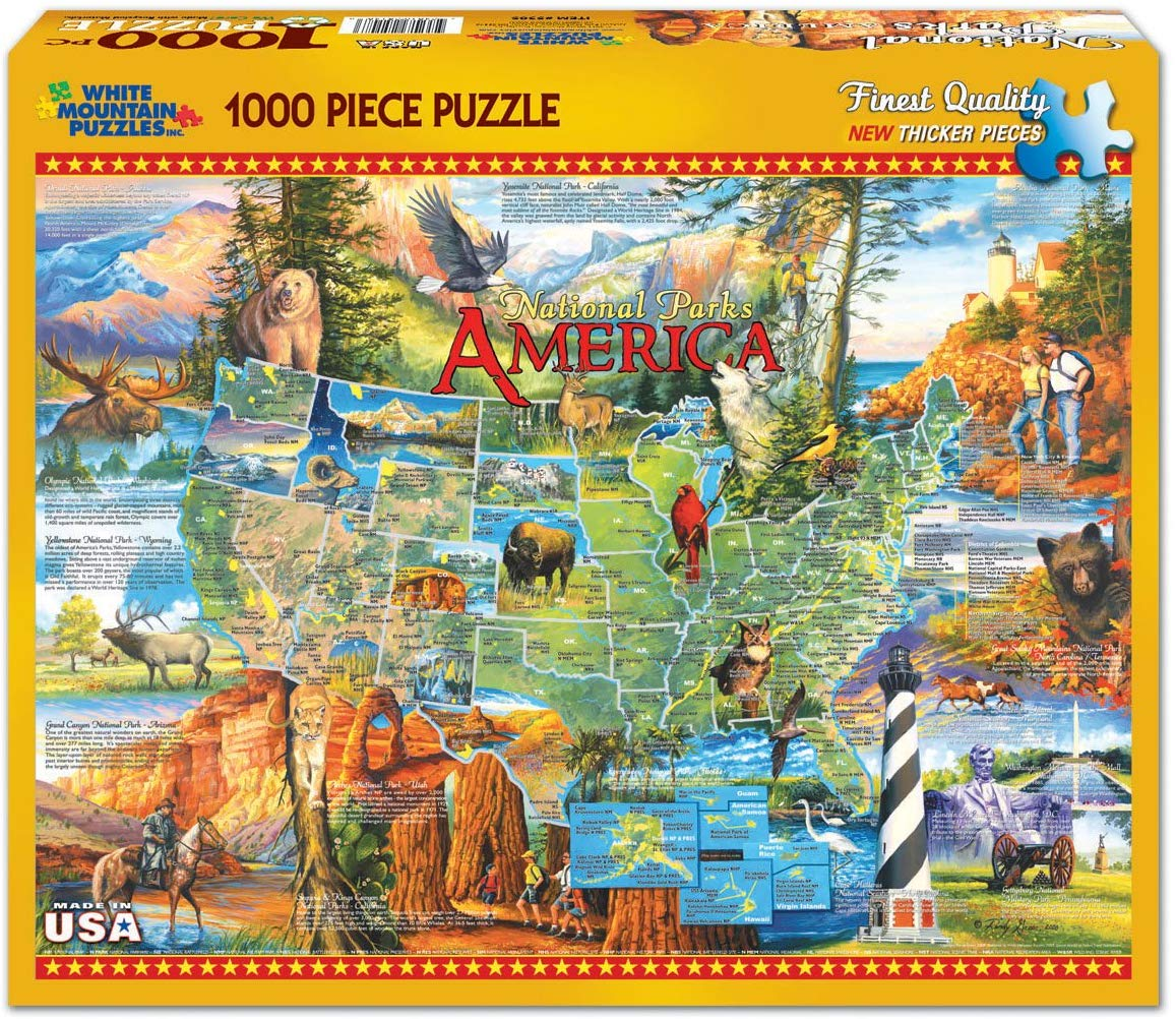 National Parks Puzzle 1000pc