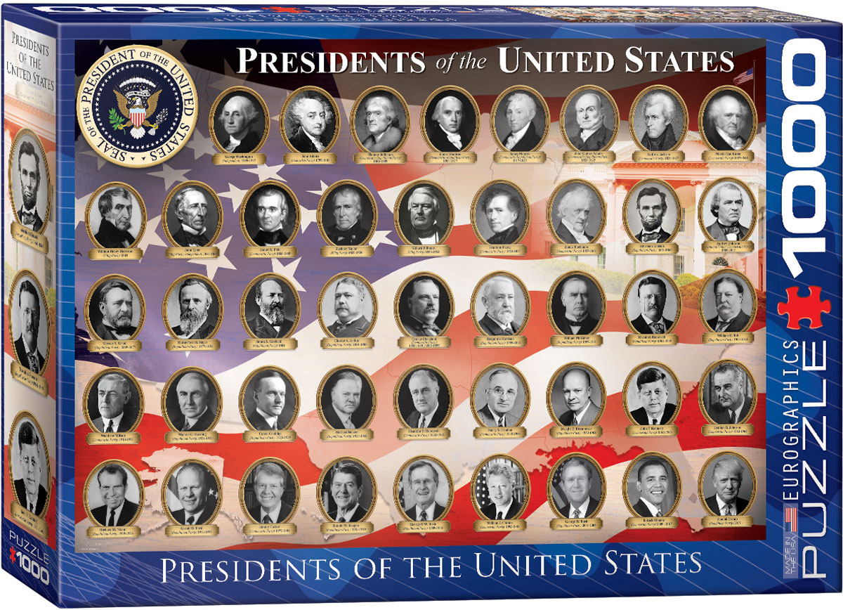 Presidents of the United States Puzzle 1000 Piece