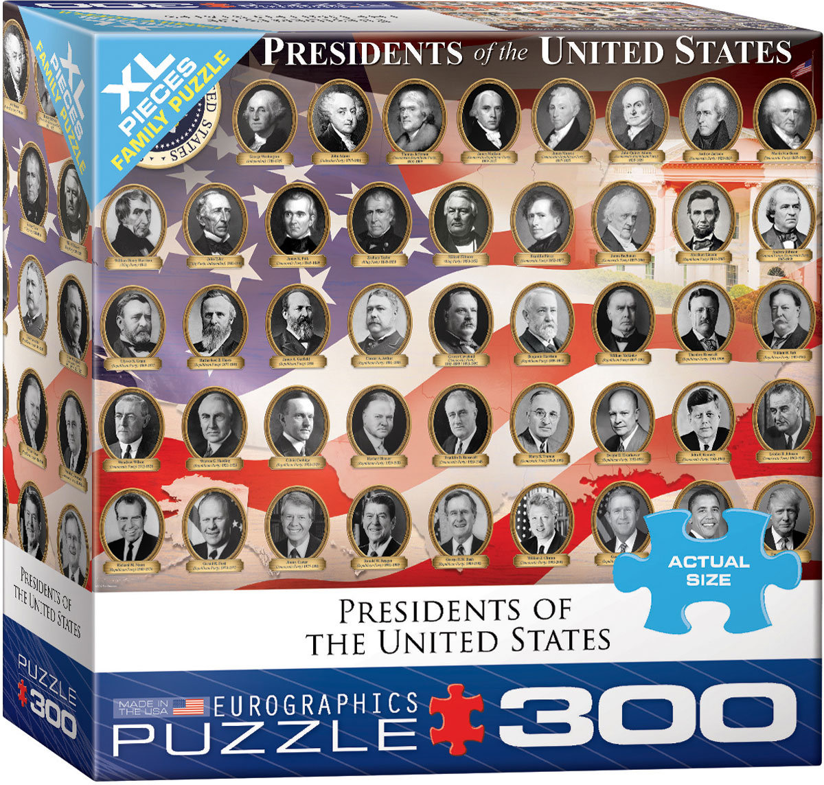 Presidents of the United States Puzzle